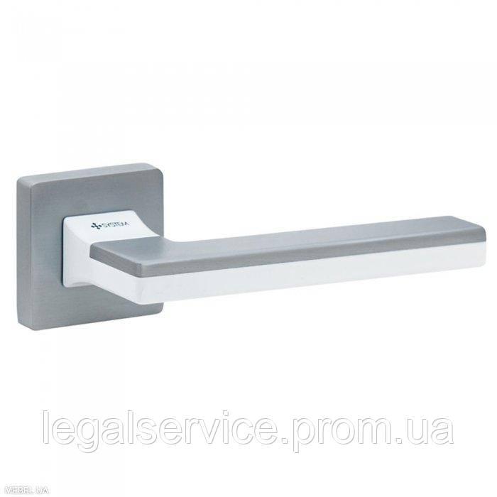 Дверная ручка SYSTEM (LARISSA 100) RO11 CBM AL7 CBM