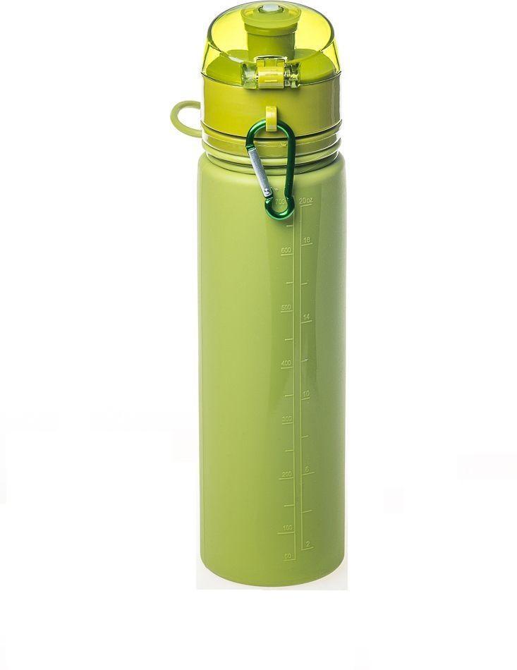 Бутылка силикон 700 мл Tramp TRC-094-olive