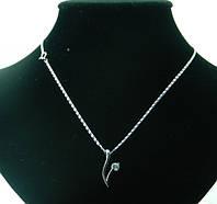 Романтическая подвеска с кристаллом Swarovski оптом. 42