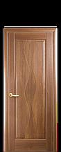 Дверное полотно Волна Золотая ольха глухое