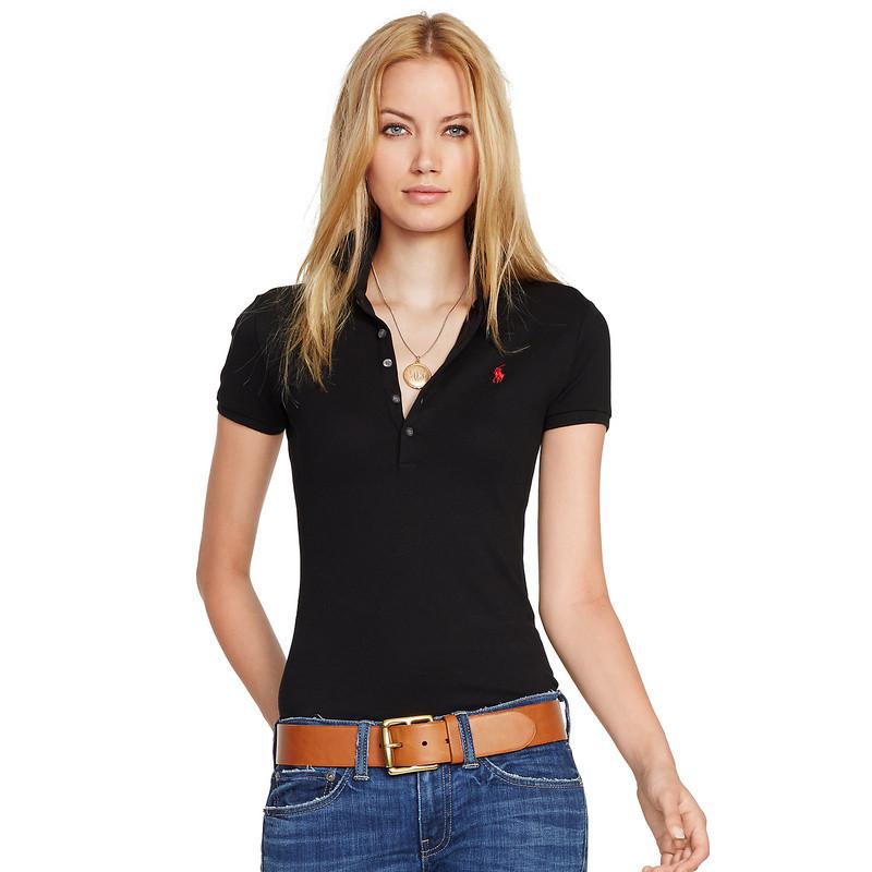 У стилі Ральф лорен поло жіноча поло жіноча футболка бавовна ралф