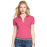У стилі Ральф лорен поло жіноча поло жіноча футболка бавовна ралф, фото 2