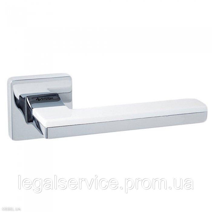 Дверна ручка SYSTEM (LARISSA 100) RO11 CR-CR/AL7