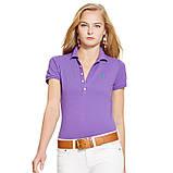 У стилі Ральф лорен поло жіноча поло жіноча футболка бавовна ралф, фото 4