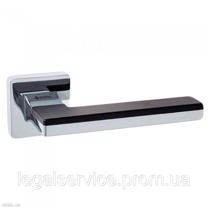 Дверная ручка SYSTEM (LARISSA 100) RO11 CR-CR/AL6