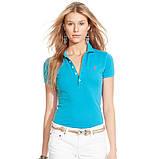 У стилі Ральф лорен поло жіноча поло жіноча футболка бавовна ралф, фото 3