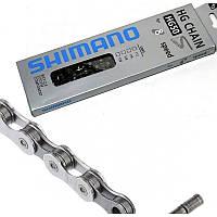 """Велосипедная цепь SHIMANO (размер 1/2""""х3/32"""" 116 звеньев, модель НG50, 8 скоростей)"""