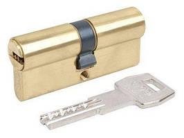 Цилиндр AGB SCUDO 5000 PS 60мм (30х30) ключ+ключ латунь