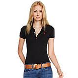В стиле Ральф поло женское поло хлопок женская футболка ралф, фото 3