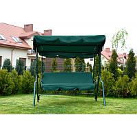 Садовая качеля релакс 3х-местная зеленая