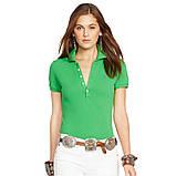 У стилі Ральф лорен поло жіноча поло жіноча футболка бавовна ралф, фото 8