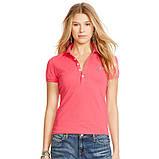 У стилі Ральф лорен поло жіноча поло жіноча футболка бавовна ралф, фото 9