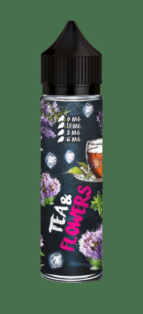 Жидкость для электронных сигарет Tea & 60, Tea & Flowers, 3 мг/мл