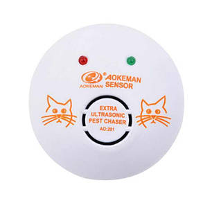 Ультразвуковий відлякувач мишей, щурів і гризунів Aokeman Sensor AO-201, фото 2