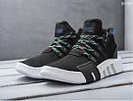 Мужские кроссовки Adidas EQT Bask ADV (черно-белые), фото 4