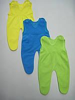 Ползунки для новорожденного Махра начес. Размер 56 - 74 см
