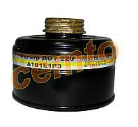 Фильтрующая коробка к противогазу А1 противогазовый фильтр комбинированный ДОТ 220