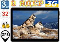 Крутой планшет на 2 SIM Samsung K100,GPS, 2Sim, 32Gb, 3GB RAM, 3G, IPS