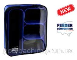 Чехол (контейнеры) CarpZoom EVA Bait Box Set Large 34x28x8см