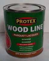 Лак Паркетный полиуретановый PROTEX (полуматовый) 0,7л, фото 1
