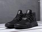 Мужские кроссовки Adidas EQT Bask ADV (черные), фото 5