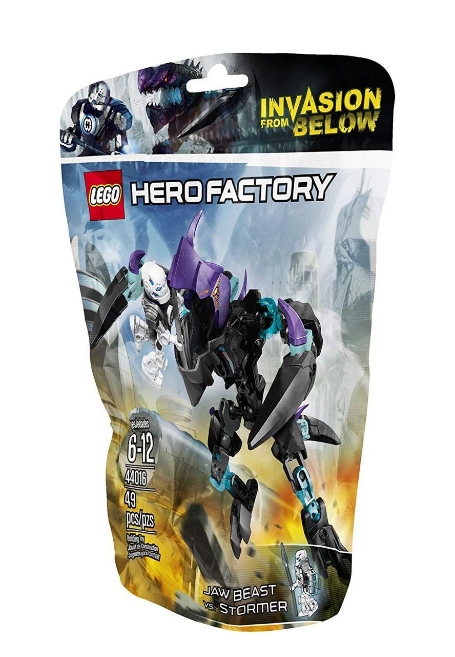 Lego Hero Factory Кусачий монстр против Стормера 44016