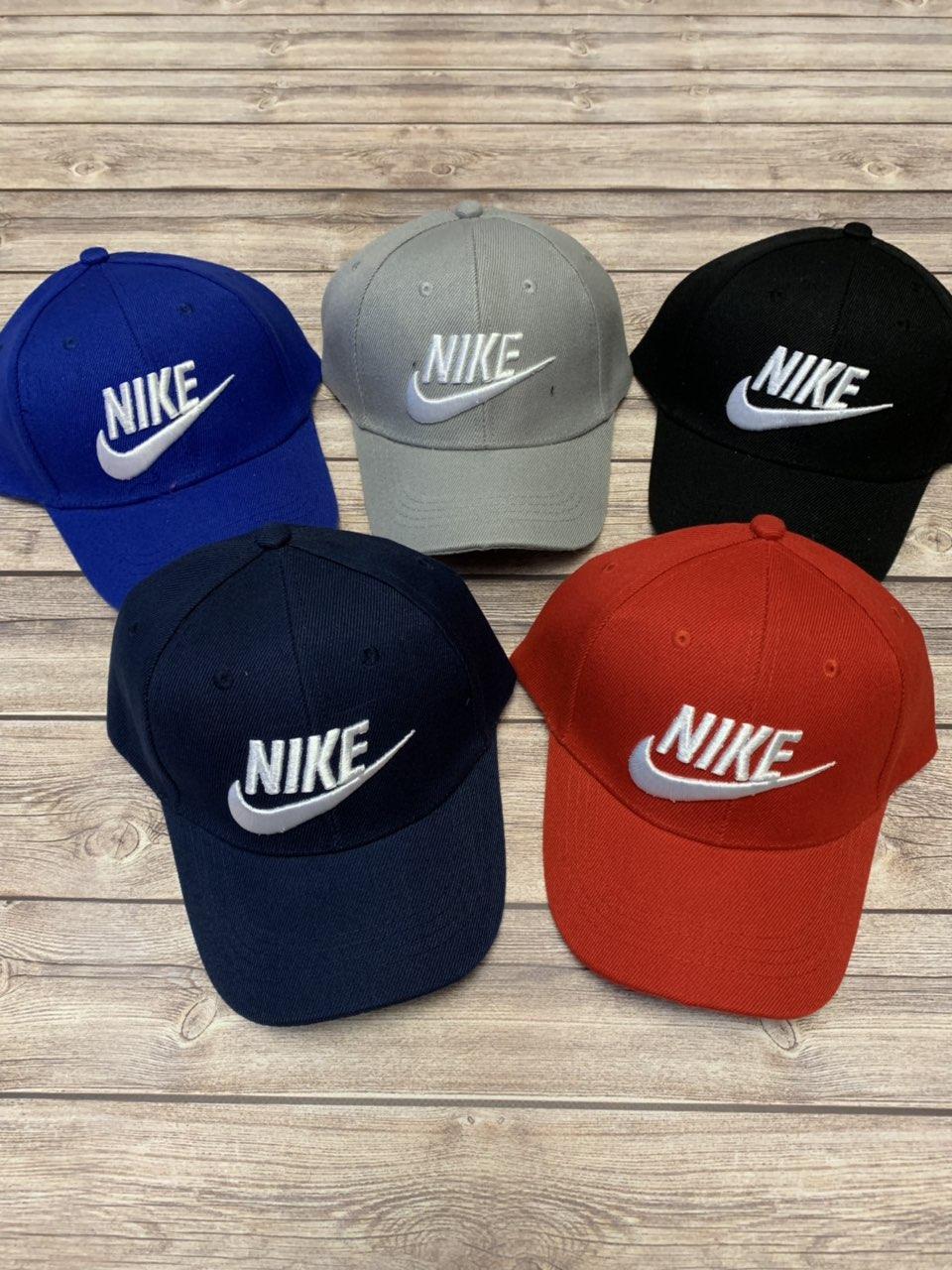 Детская кепка для мальчика с нашивкой Nike р.54-55
