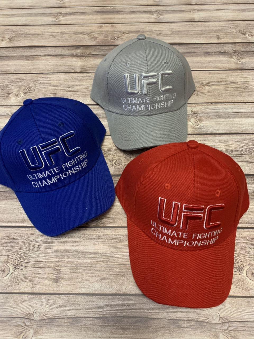 Детская кепка для мальчика с нашивкой UFC р.54-55