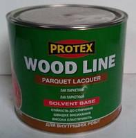 Лак Паркетный полиуретановый PROTEX (полуматовый) 2,1л, фото 1