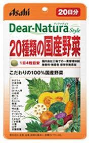 Японские Dear Natura 20 сублимированные овощи 80 шт / 20 дн