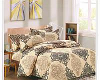Комплект постельного белья Casa New Fashion Евро 230х250 см Ранфорс CasaNewFashion M-448 (M-448)