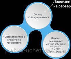 1С:Підприємство 8.3 Ліцензія на сервер