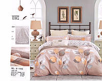 Комплект постельного белья Casa New Fashion Евро 230х250 см Хлопок CasaNewFashion B-1065 (B-1065)