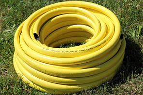 Шланг садовый Tecnotubi Euro Guip Yellow для полива диаметр 1/2 дюйма, длина 25 м (EGY 1/2 25), фото 3