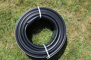 Шланг садовый Tecnotubi Euro Guip Black для полива диаметр 1 дюйм, длина 25 м (EGB 1 25), фото 2