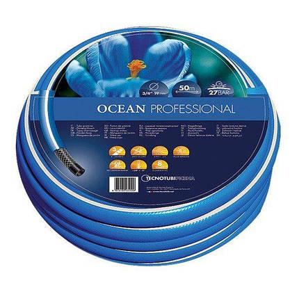 Шланг садовый Tecnotubi Ocean для полива диаметр 1/2 дюйма, длина 20 м (OC 1/2 20), фото 2
