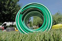 Шланг садовый Tecnotubi EcoTex для полива диаметр 5/8 дюйма, длина 25 м (ET 5/8 25), фото 3