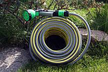 Шланг садовый Tecnotubi Retin Professional для полива диаметр 5/8 дюйма, длина 50 м (RT 5/8 50), фото 3