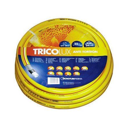 Шланг для полива Tecnotubi TricoLux садовый диаметр 3/4 дюйма, длина 25 м (TC 3/4 25), фото 2
