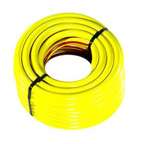 Шланг поливочный Evci Plastik Радуга (Salute) желтая диаметр 3/4 дюйма, длина 50 м (SN 3/4 50), фото 2