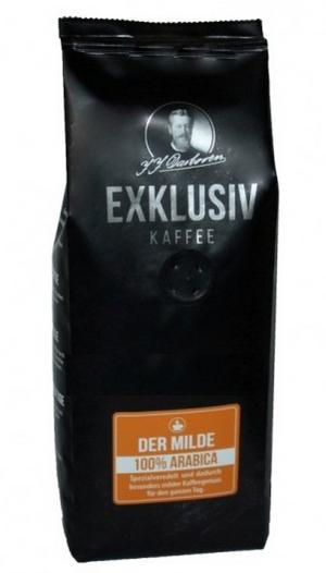 Кофе в зёрнах мягкий вкус Darboven Exklusiv kaffee der Milde 250 гр.