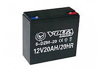 Тяговый аккумулятор мультигелевый VB MGL20 (12V 20A) AGM, фото 1