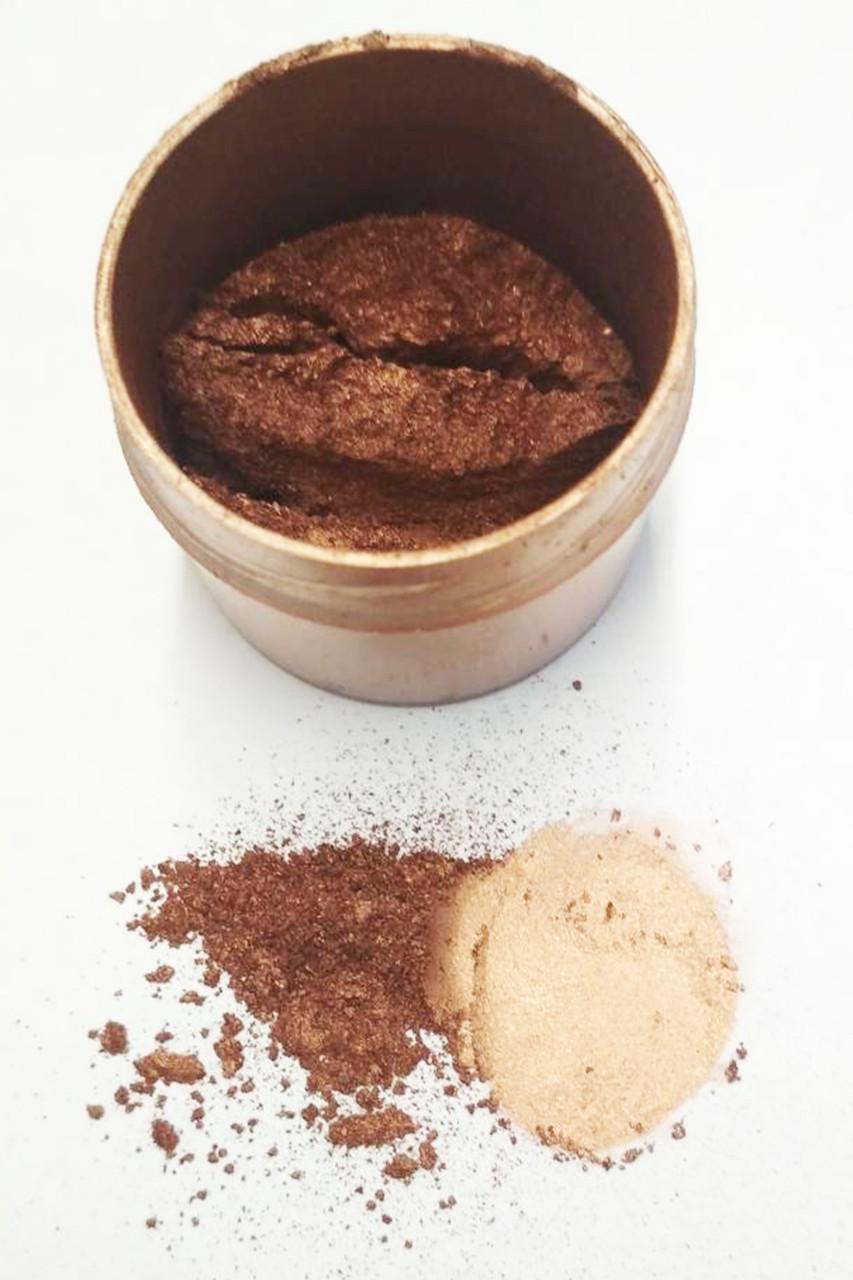 Кандурин коричневый (молочный шоколад) блеск