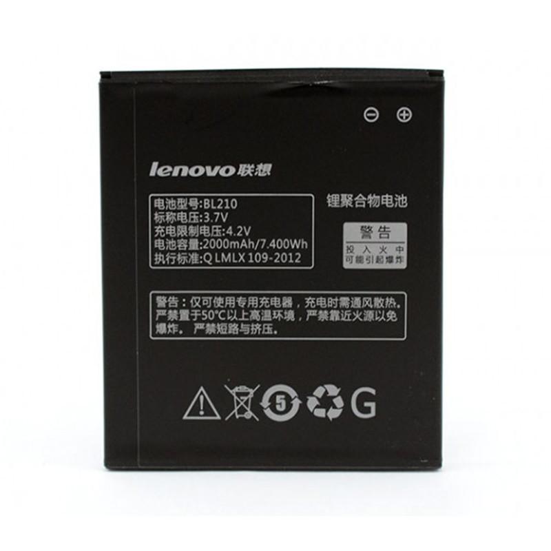 Аккумулятор Lenovo BL210, 2000 mAh (A656, A658, A750, A766, A770, S650, S658, S820) origin батарея Леново