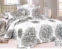 Комплект постельного белья Casa New Fashion Евро 230х250 см Ранфорс CasaNewFashion M-306 (M-306)