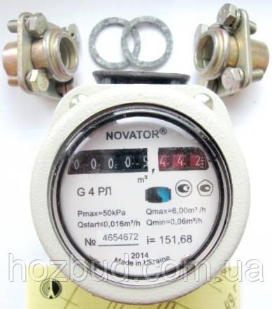 Газовий лічильник роторний Новатор G6
