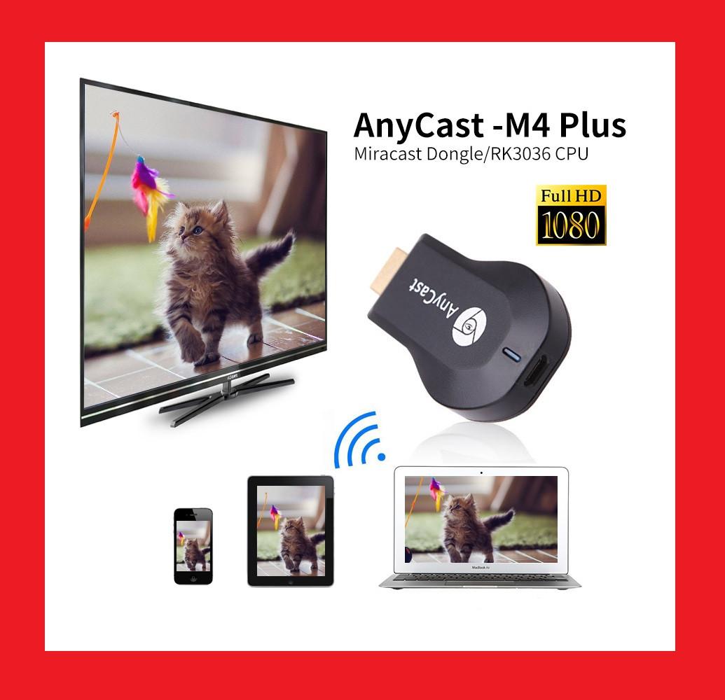 Медіаплеєр Miracast AnyCast M4 Plus HDMI з вбудованим Wi-Fi модулем