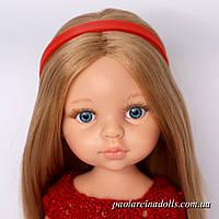 Ободок красный для кукол