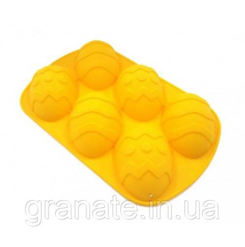 """Силиконовая форма """"Пасхальные яйца"""" 27х17х3 см"""