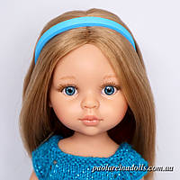 Ободок голубой для кукол